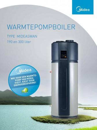 WARMTEPOMPBOILER MIDEASWAN-300S (ka14959)