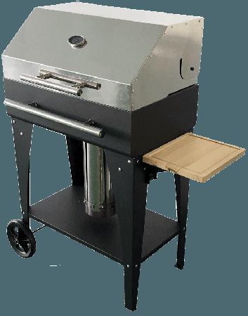 BBQ PELLET GARDEN (met kap en temp meter)