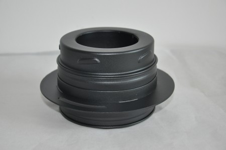 TWIST-LOCK DUBBELWANDIG TADAPTER (stove)