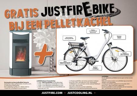 justfireE-BIKE UNISEX MODEL (met samsung batt en EU standaard)