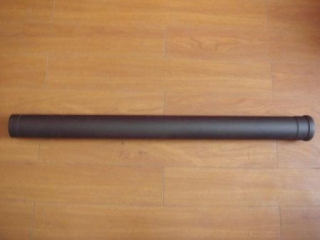 80mm ZWARTE PIJP 100CM