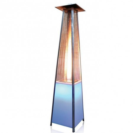 Terras piramide verwarming (Wit LED 2.27m 13kw)