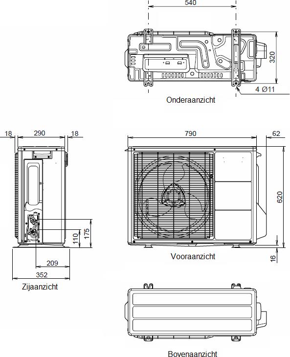 Techneco Loria 6008 / Warmtepomp 8kw en buffer - KALOR ...