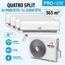 MITSUI PRO QUATRO 3X9-/1X12000BTU (A++) 360m3