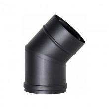 80mm BL-RVS, diameter Ø80-130, 30gr.Elbow-pijp