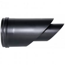 80mm BL-RVS, diameter Ø80-130, EINDKAP