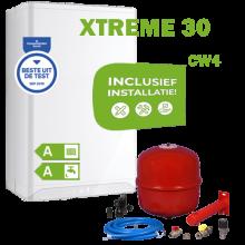 INTERGAS XTREME30 (CW4) volledig geinstalleerd