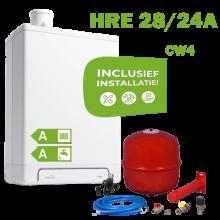 INTERGAS HRE28/24A (CW4) volledig geinstalleerd