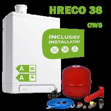 INTERGAS HRECO36 (CW5) volledig geinstalleerd
