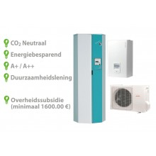 Techneco Loria 6006 / Warmtepomp 6kw en buffer