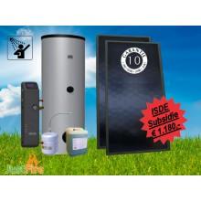 Zonneboiler 200 liter met 2 Solmax zonnecollectoren KA13623 - 200-2slm