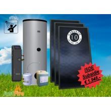 Zonneboiler 300 liter met 3 Solmax zonnecollectoren - 300-3slm