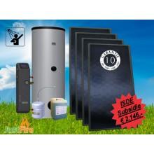 Zonneboiler 400 liter met 4 Solmax zonnecollectoren KA13625 - 400-4slm