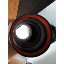 80mm SILICON RUBBER (tbv zwarte pijp)