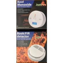 Koolmonoxide & Rookmelder combi-pack