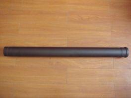 80mm ZWARTE PIJP 50CM