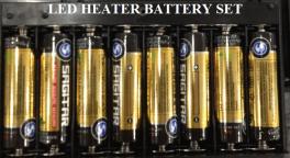 Led Heater Battery
