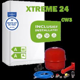 INTERGAS XTREME24 (CW3) volledig geinstalleerd
