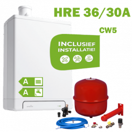 INTERGAS HRE36/30A (CW5) volledig geinstalleerd