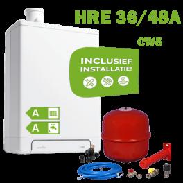 INTERGAS HRE38/48A (CW5) volledig geinstalleerd