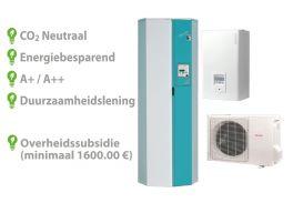 Techneco Loria 6010 / Warmtepomp 10kw en buffer