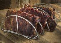KAMADO BBQ RIB RACK 21-23.5-26 inch