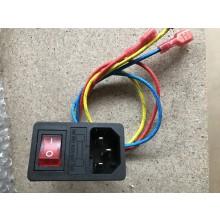 Powerinput / aan uit schakelaar
