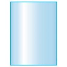 Glasplaat HELDER-95X80 (lichte besch.) Aanbieding