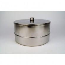 150mm Ø150-200RVS, DOP pijp