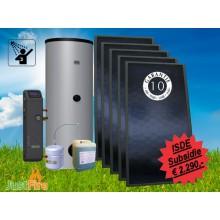 Zonneboiler 500 liter met 5 Solmax zonnecollectoren - KA13626 - 500-5slm