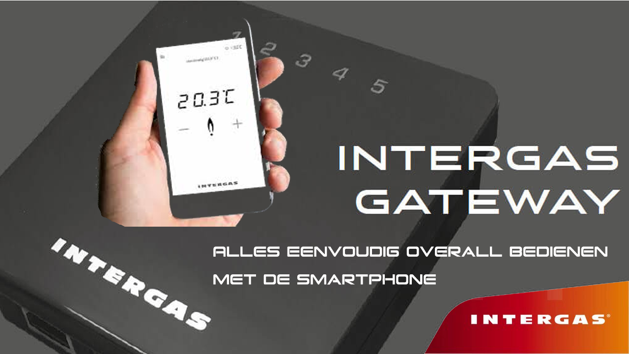 Intergas Comfort touch internet gateway serie