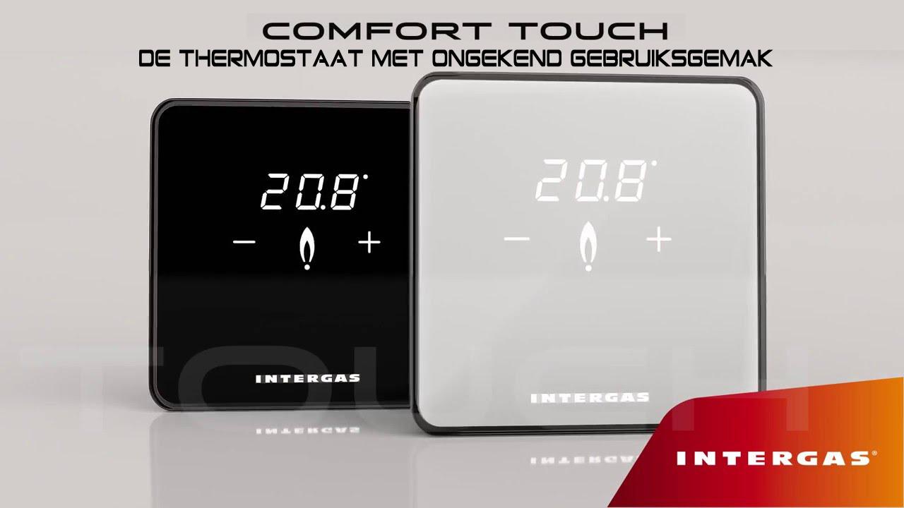 Intergas Comfort touch zwart
